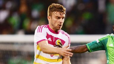 James Morrison: Scotland midfielder is relishing playing against Germany on Sunday