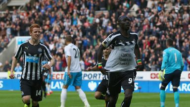 Papiss Cisse: Scored twice on his return to action