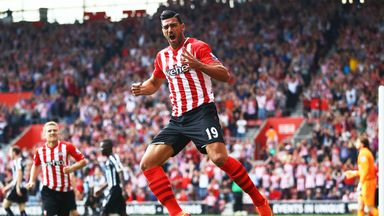 Graziano Pelle: Three goals in Southampton