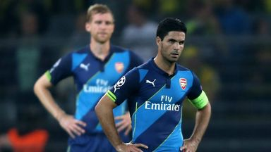 Mikel Arteta: Looking for a positive reaction to European setback
