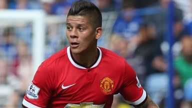 Marcos Rojo: Living the dream at Old Trafford