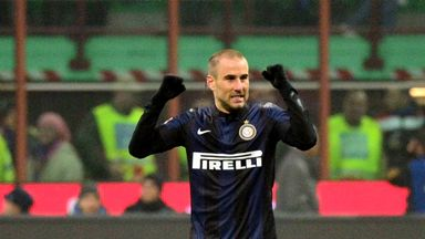 Rodrigo Palacio: Equalised for Inter Milan
