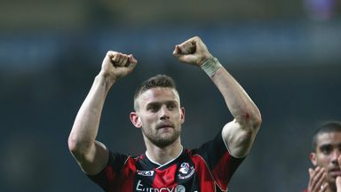 Simon Francis: Opted to stay at Dean Court