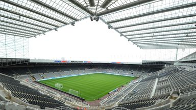 A general view of St James' Park, Newcastle - venue for Magic Weekend 2015