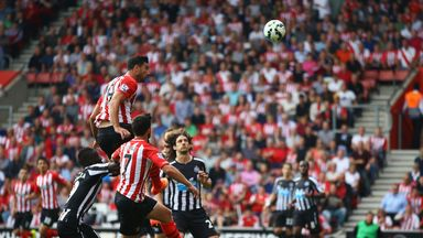 Graziano Pelle: Scored two goals in Southamptons 3-0 win over Newcastle