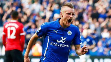 Jamie Vardy: Inspired September victory over United