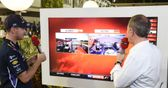 Brundle meets Vettel