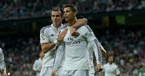 Cristiano Ronaldo: Celebrates his second of four goals