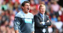 John Carver: Newcastle No.2 regrets his row with a supporter