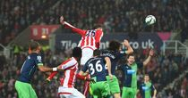 Crouch heads Stoke in front...