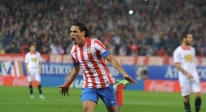 Falcao's best La Liga goals
