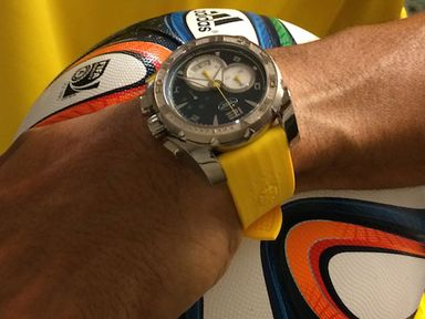Parmigiani watch handed out during the World Cup in Brazil