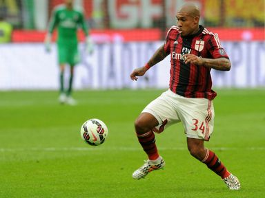 Nigel de Jong: Hoping to see out his playing days at AC Milan