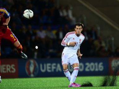 Bale scores Wales' winner with a late free kick
