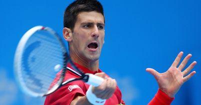 Quickfire win for Djokovic