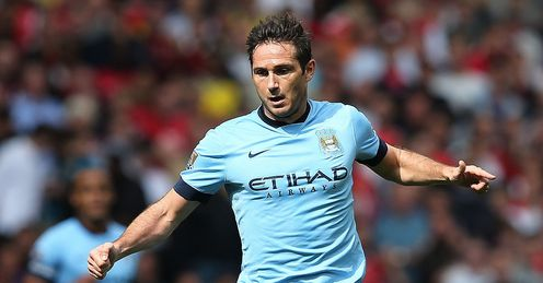 Frank Lampard: Ready to face his former club