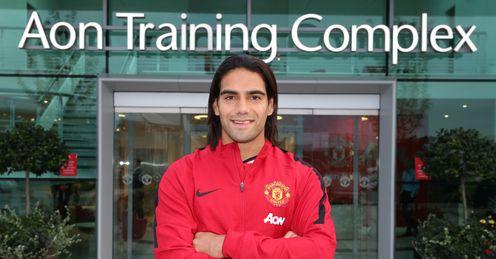 Radamel Falcao: Made a late loan move to Manchester United