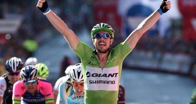 John Degenkolb won his third stage of this year's Vuelta
