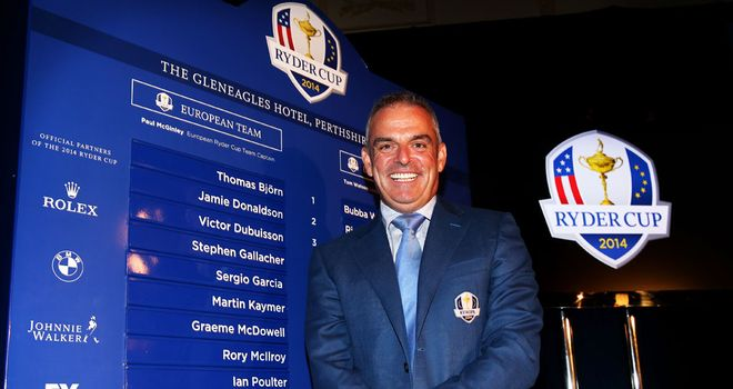 Paul McGinley says it would have been very hard to leave out Ian Poulter