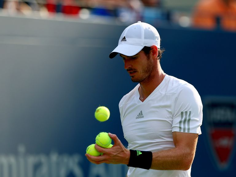Andy Murray: Takes on Novak Djokovic for a place in the US Open semi-finals