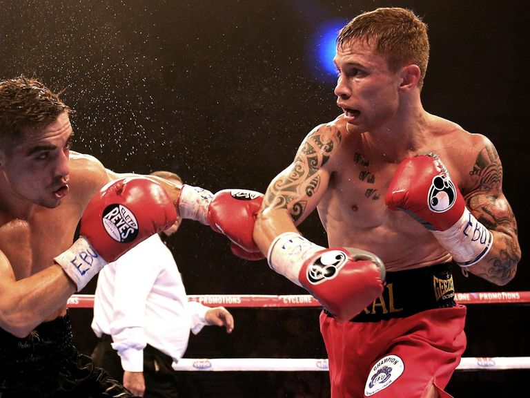 Carl Frampton: Bidding for a world title on Saturday night