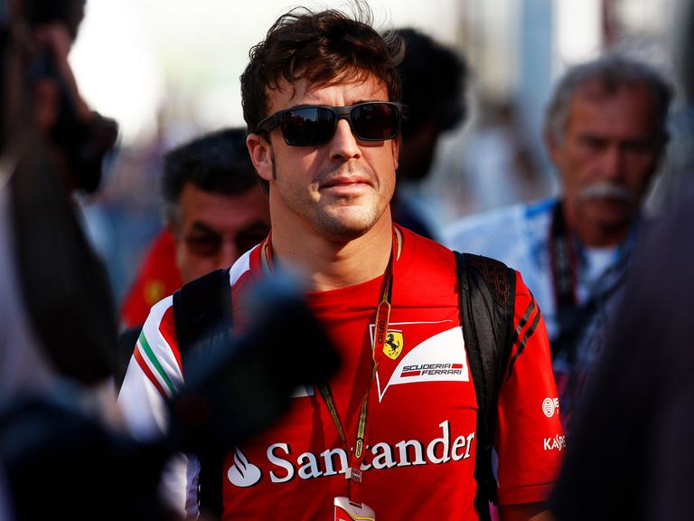 Fernando Alonso: Played up Mercedes feud