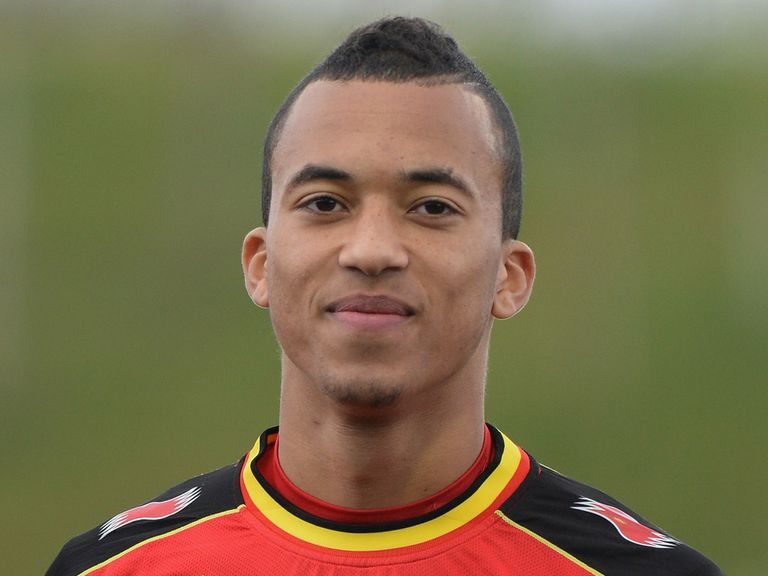 David Henen: Has joined Everton on a season-long loan
