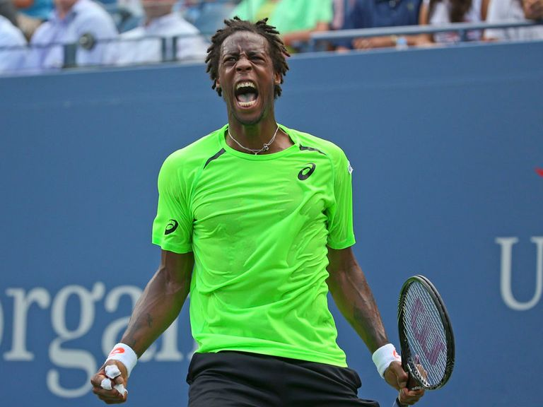 Gael Monfils: Toppled Gregor Dimitrov in straight sets on Tuesday