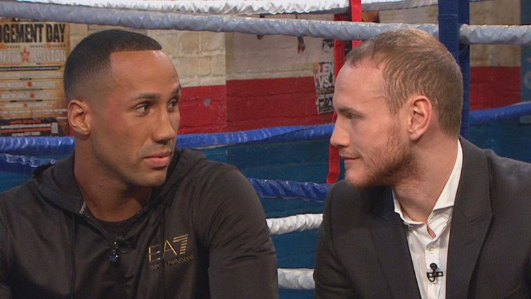 George Groves: wishes James DeGale luck as he takes on Andre Dirrell