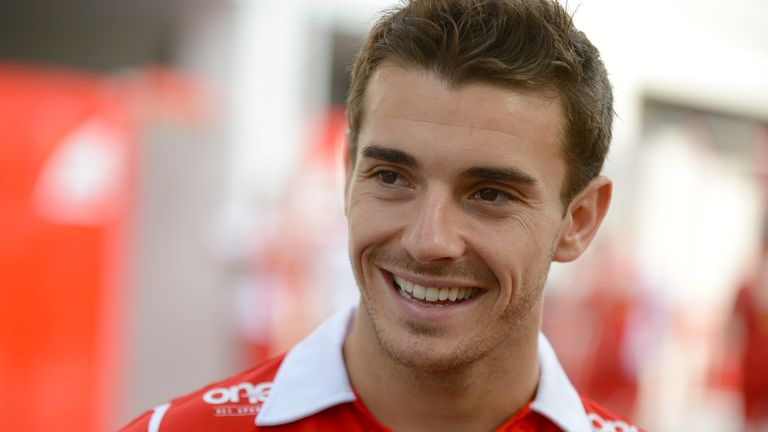 Jules was given his full-time F1 chance by Marussia in 2013