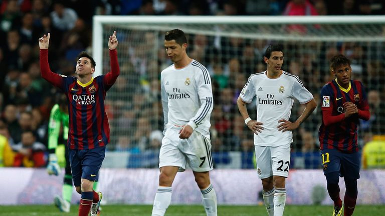 Barcelona and Real Madrid a class apart from English clubs according to Gary Neville