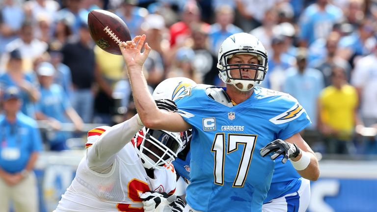 San Diego Chargers Kansas City Chiefs Play Off Hopes On