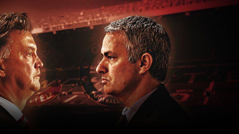 Angel di Maria Diego Costa jadwal bola Jose Mourinho Liga Inggris Louis van Gaal Manchester United Premier League Sepak Bola Wayne Rooney
