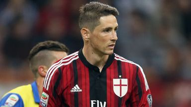 Fernando Torres: Joined AC Milan on a two-year loan deal