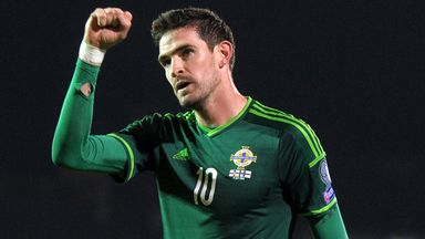 Kyle Lafferty: The on-loan Norwich striker is in prime form for Northern Ireland