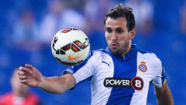 Christian Stuani in action for Espanyol