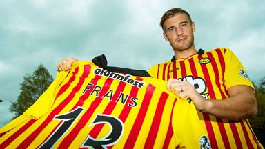Frederic Frans: Thistle defender agrees new deal