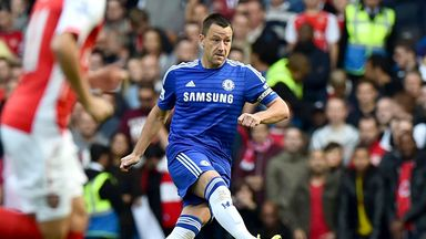 John Terry: Impressed by team-mates tracking back