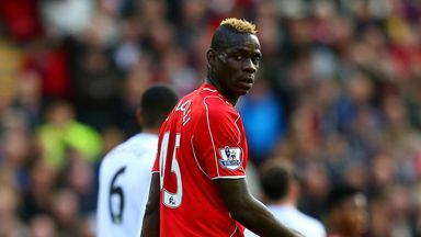 Mario Balotelli: Italy striker sparked a 2-1 victory over Swansea