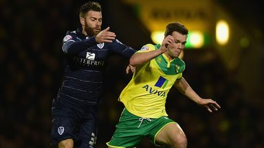 Jonny Howson: Eyeing three points at Millwall