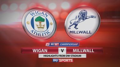 Wigan 0-0 Millwall