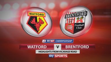 Watford 2-1 Brentford