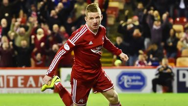 Jonny Hayes: Aberdeen striker scored the only goal of the game against Motherwell