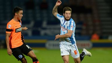 Jacob Butterfield (right): Scored in draw with Brighton