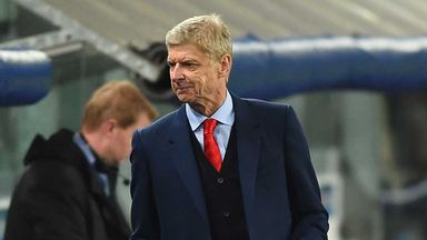 Arsene Wenger: Celebrated 65th birthday in Brussels