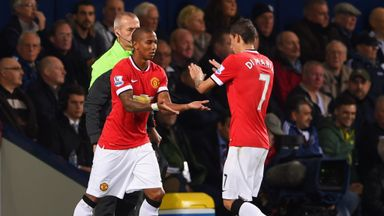 Ashley Young: Competing with Angel di Maria for competitive minutes