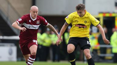 Jacob Blyth: Set for extended stay at Burton