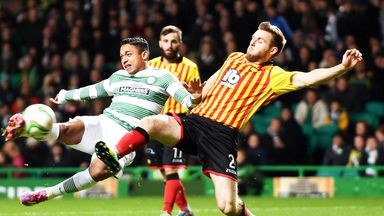 Emilio Izaguirre: Celtic defender scored his first goal for four years