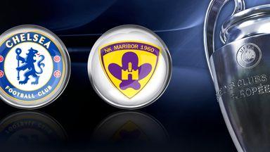 Chelsea v Maribor: Group G clash at Stamford Bridge