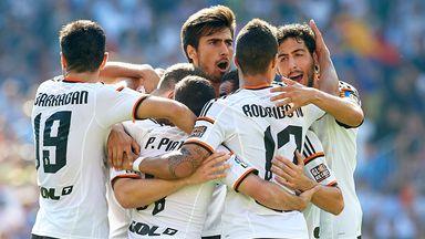 Valencia: Riding high in La Liga